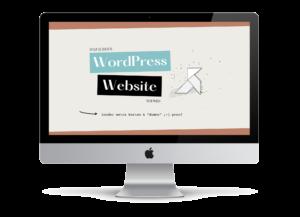 """Online cursus """"Je eigen WordPress website bouwen"""""""